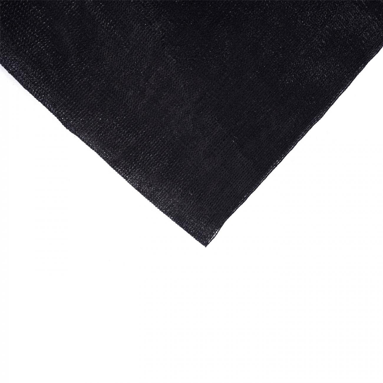 MALLA RASCHEL NEGRA 4,20 ANCHO 80% X MT LINEAL