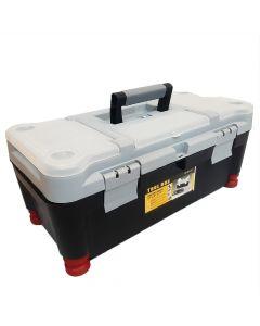"""Caja de Herramientas Tool Box 17"""" Plastica  con Bandeja Organizadora 430 x 220 184 mm"""