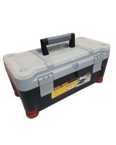 Caja De Herramientas Tool Box  20'' Plastica Con Bandeja Organizadora 510 X 256 X 227 Mm