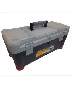 Caja De Herramientas Tool Box 25'' Plastica Con Bandeja Organizadora 634 X 300 X 279 Mm