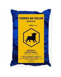 // tierra azul impor. 1 kg inquisa (178-1)