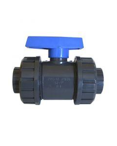 Valvula de bola pvc c/union americana 32mm (60181) cosmoplas (175062) (e10)