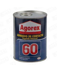 Agorex 60 adhesivo contacto 1/4 gl henkel (284616) (e12)
