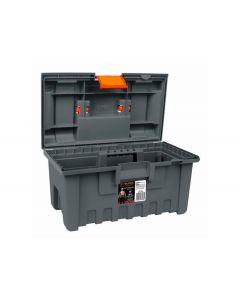 Caja p/herramienta 16 naranja t/negra truper(381420)