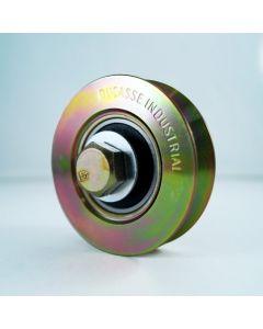Rueda c/ placa 64 mm  (100 kg) ducasse 10100112511 (e-12)