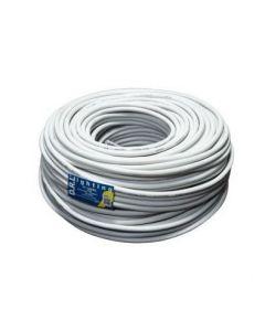 Cordon Electrico Nexans 3 x 1,5mm H05VV-F Blanco