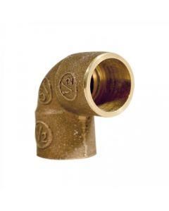 Codo bronce SO - SO 1/2'