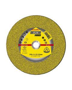 Disco de Corte Metal 7' A24 KLINGSPOR