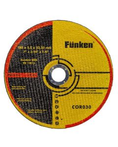 Disco Corte Metal Funken 7 x 2,5 mm
