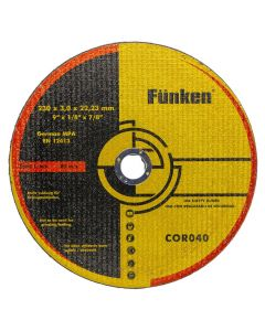 Disco Corte Metal Funken 9 x 3 mm