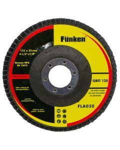 Disco Lija Traslapado Funken 4 1/2 Grano 120