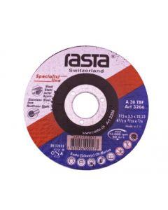 Disco Corte Inoxidable Rasta 4 1/2x 1