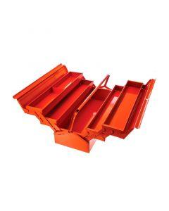 Caja Herramientas Articulada Metálica 22' Naranja BAHCO