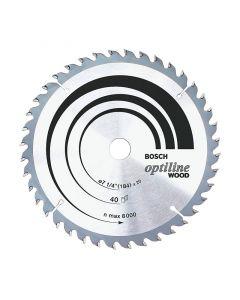Disco Sierra Circular Bosch 7 1/4'/ 24 Dientes Mod: Optiline Wood