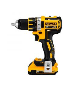 Taladro Atornillador Dewalt Compacto Inal. 20V Litio-Ion Brushless Mod: Dcd791d2