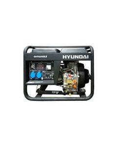 ** Generador Hyundai Diesel Abierto  5/5.5 Kw P/e 78dhy6000le (e1)