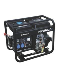 Generador Hyundai Diesel Abierto  5/5.5 Kw P/ Electreica Mod: 78dhy6000le