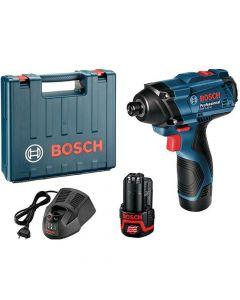 Atornillador Impacto Bosch Inalámbrico 12v Mod: Gdr120-li