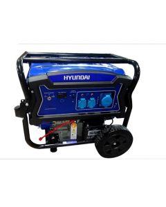 Generador Gasolina Hyundai  6/6.5 Kw P/ Electrica Monofasico Abierto Mod: 82hyg9250e