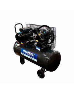 Compresor hyundai monofasico 2 hp 100 lt (78hyac100c)