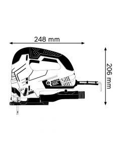 Sierra Caladora Bosch 650w Mod: Gst 90 e hv