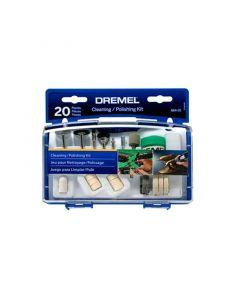 Kit 20 ACC para Limpiar y Pulir DREMEL