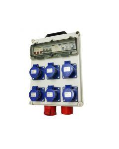 Tablero de Faena Portátil 380/230 V, 12 kVA Kersting