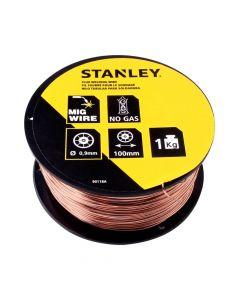 Alambre Flux 0,9 Stanley 0,9 Kg para Mikromig