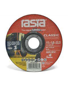 Disco Corte Fe Rasta 4 1/2 Classic Rojo 115 x 1.0mm