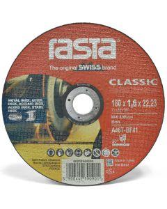 DISCO CORTE FE 7 RASTA CLASSIC ROJO 180 X 1.6 (800043 ) (E25)