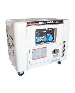 Generador diesel 6.5  kw p/ electrica mod-ddg7200s insonoro ducar (551563)