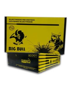 ELECTRODO SOLDADURA 6010 1/8  BIG BULL (CAJA 25 KG)