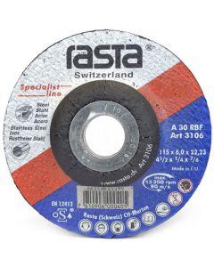 Disco Desbaste Fe # 3118 9'' X 1/4 Rasta