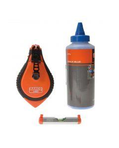 Tizador Plástico CL-1221 + Set BAHCO
