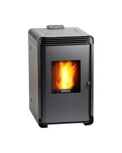 Calefactor a pellet bosca mod hera 02201 negro 100 m2 calefaccion(101020038) (e1)