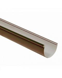 Canal agua PVC marrón