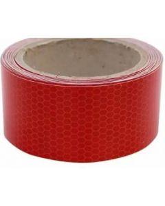 Cinta reflectante hip* roja 25 mm x 5 mt power tape