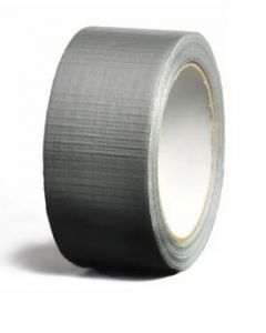 Cinta tela impermeable gris 50 mm x 5o mt power tape