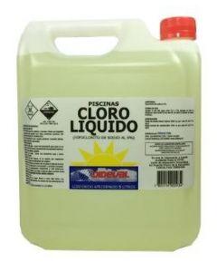 Cloro liquido piscina dideval 5 lts (e5)