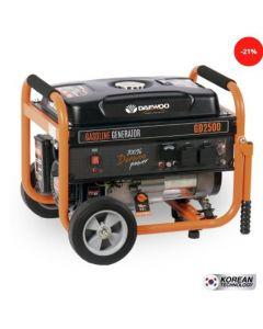 Generador daewoo mod-gd2500 2.0/1.8 kva p/manual 220 v gasolina (7799034005343) (e1)