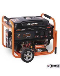 Generador daewoo mod-gd6500e 5.5/5.0 kva p/electrica 220 v gasolina (7799034005121) (e1)