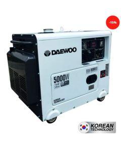 Generador daewoo mod-ddae8000se/se 5.0/4.5 kva p/electrica 220 v diesel abierto(7799034000065) (e1)