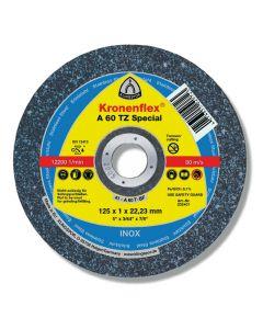 Disco de Corte Inoxidable 41/2' x 1 mm A60 KLINGSPOR