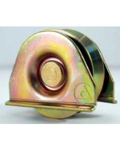 Rueda c/ placa 100 mm  (300 kg) ducasse 10100114002 (e-2)