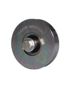 Rueda c/perno 100 mm  (300 kg) ducasse 10100114001 (e-4)