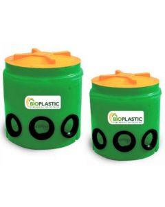 ** ( cd ) camara distribuidora de drenes 100 lts para fosa septica bioplastic (dis0100) (e1)