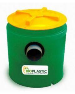 ** camara desgrasadora 100 lts para fosa septica bioplastic (des0100) (e1)
