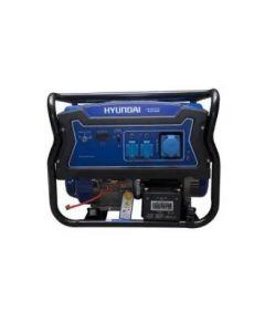 ** generador hyundai  8.0 kva gasolina p.electrica abierto c/rueda y manilla (82hyg11050e) (e1)