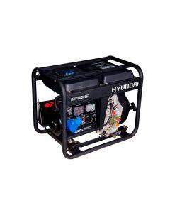 Generador Hyundai Diesel 6/6.5 Kw P/ Electrica Abierto Mod: 78dhy8000le