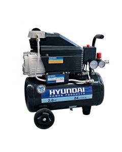 Compresor hyundai monofasico 2 hp 24l (78hyac24d)